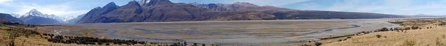 Tasman River plain