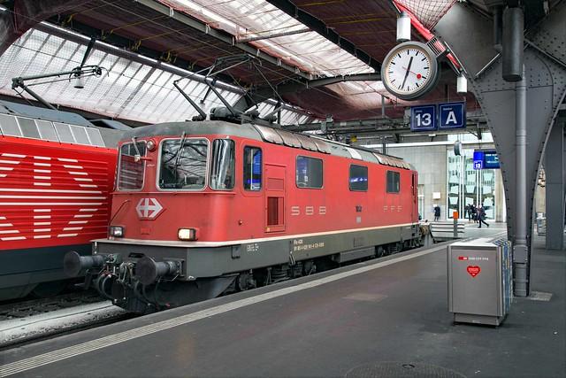 SBB Re 4/4 420 141 Zürich Hbf