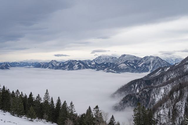 ein Nebelmeer