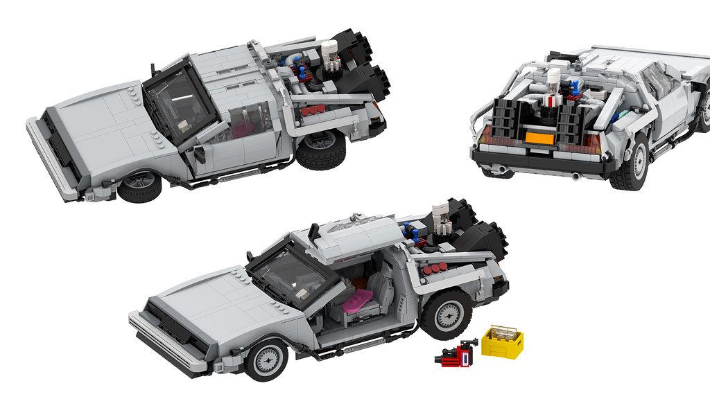 DMC Delorean BTTF2