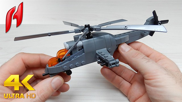 How to Build Lego Mil Mi-24 / Hind (MOC - 4K)