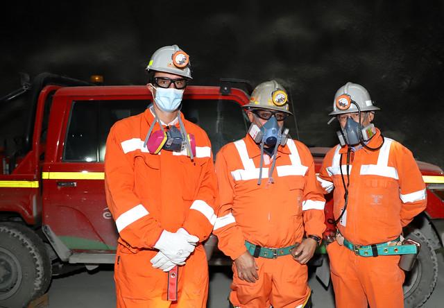 Juan Carlos Jobet, Manuel González, Mauricio Barraza