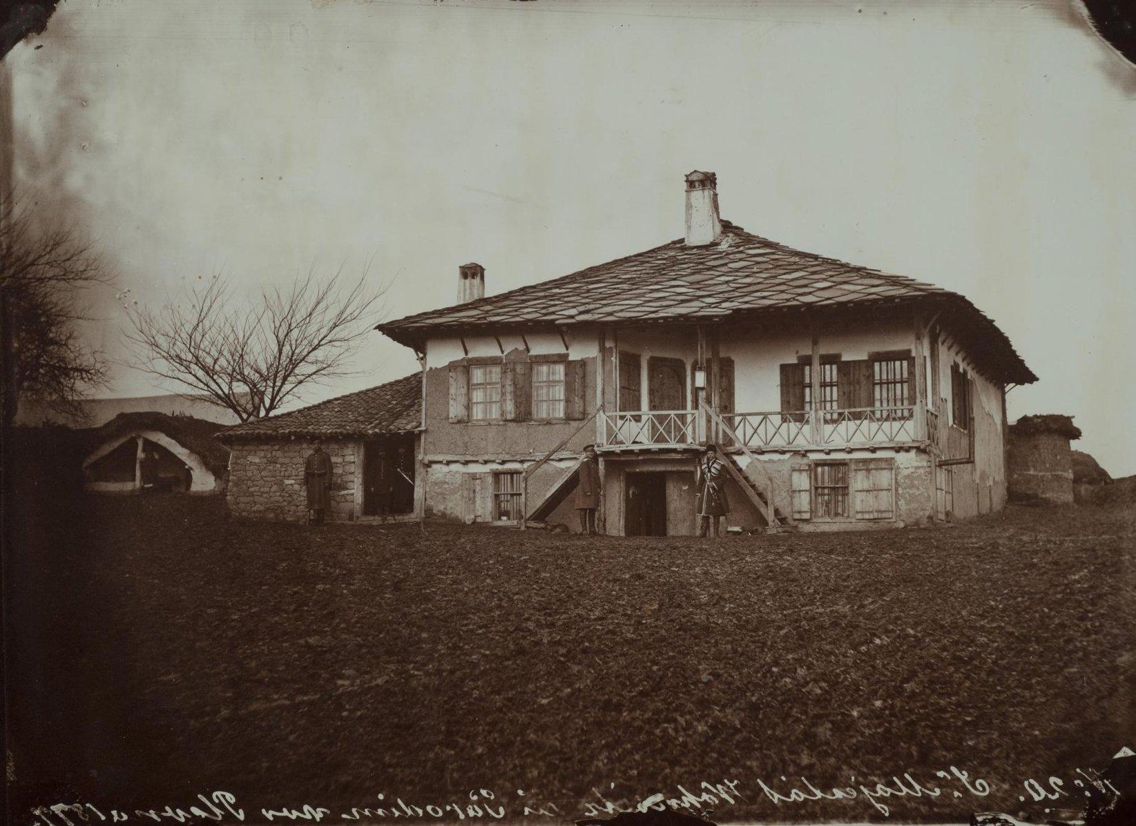 Дом, в котором жил Александр II в Горнем Студне. Duschek Franz. 1877