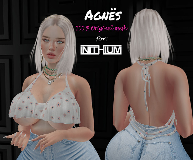 <Agnes> Flare top