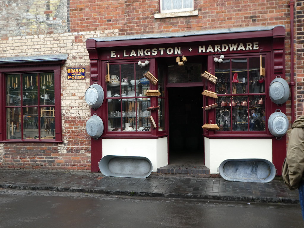Ironmongers (hardware store) at the Black Country Living Museum