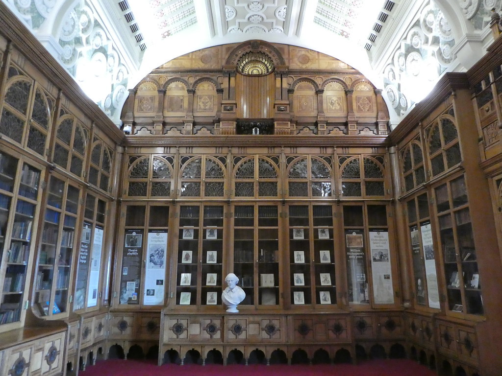 The Shakespeare Memorial Room, Birmingham Library