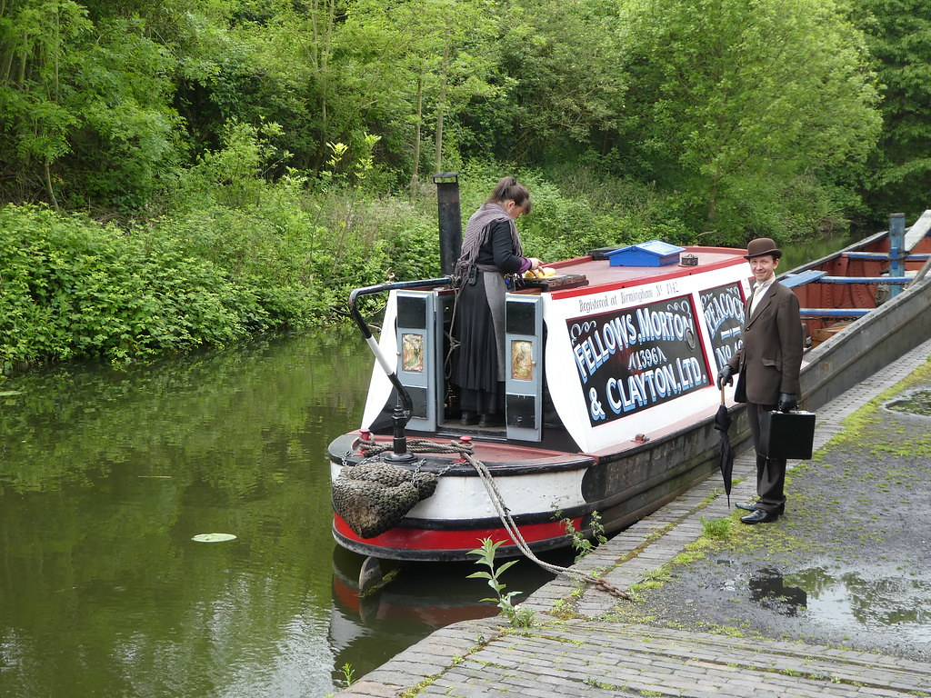 Canal boat, Black Country Living Museum