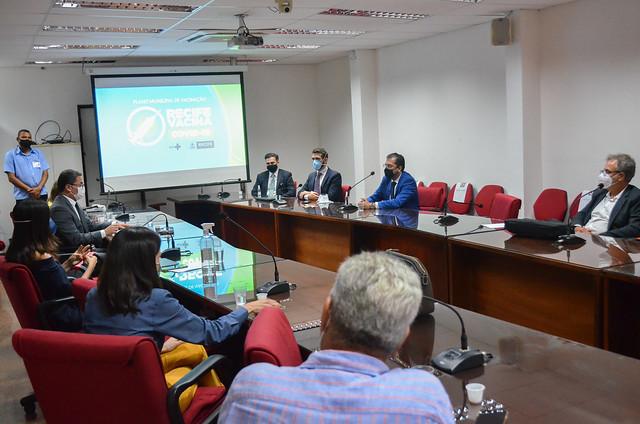 Apresentação do plano municipal de vacinação COVID19