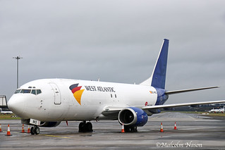 B737-4K5(F) EC-NMJ SWIFTAIR in WEST ATLANTIC marks