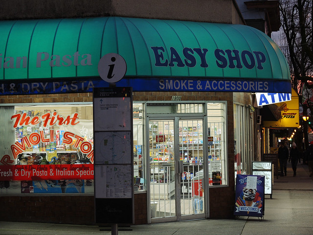 Up at Easy Shop