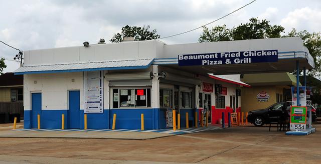 Repurposed Vintage Gulf Station - Beaumont, Texas