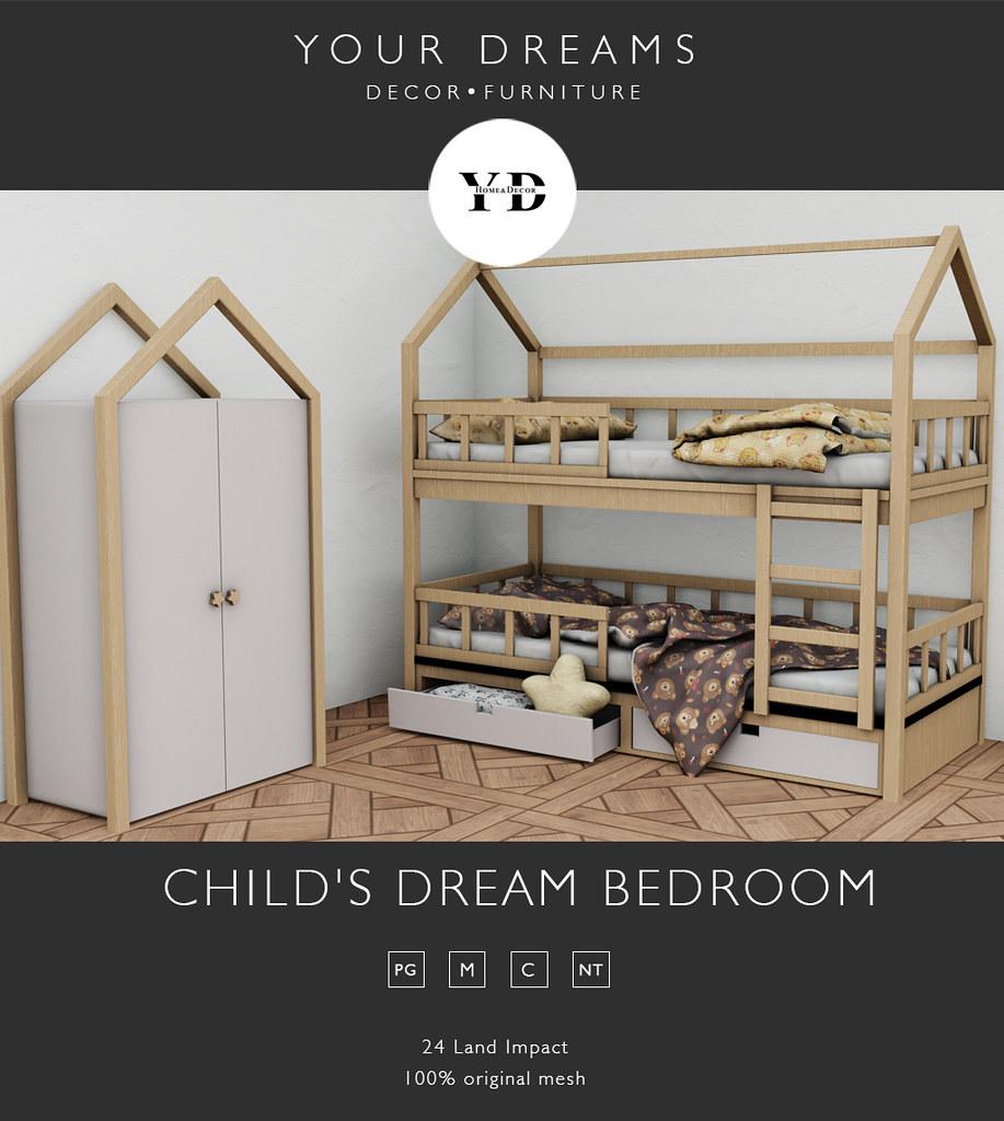 {YD} Child's dream Bedroom