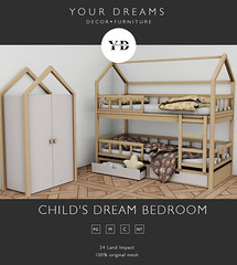 {YD} Child's dream Bedroom