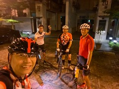 Night ride 18 Jan
