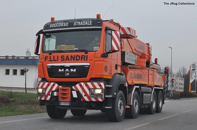 MAN TGS 41-540 - SANDRI - IT
