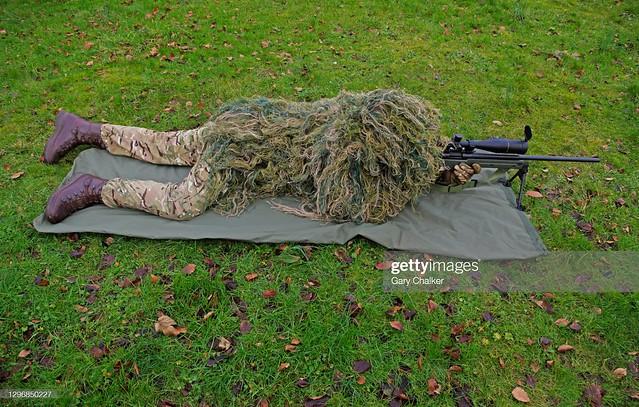 Sniper,7.62mm X 51mm NATO rifle.
