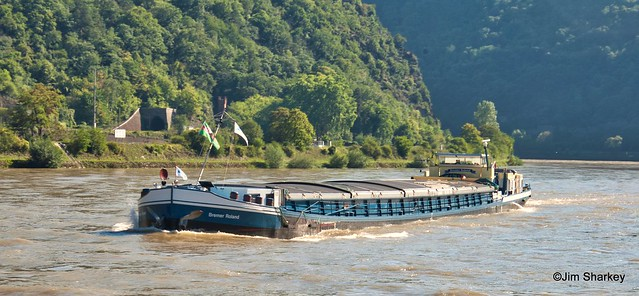 MV Bremer Roland on the Rhine