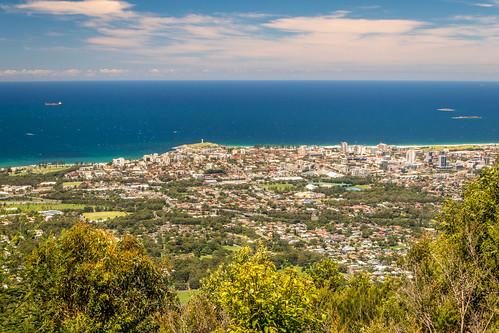 cityofwollongong wollongongcity mountkeira landscape cityscape