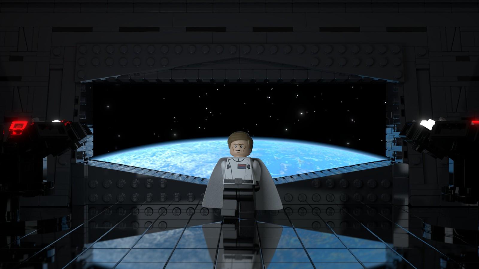 Director Orson Krennic aboard the Death Star