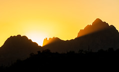 2020 11 Sunset light on Ragged Top