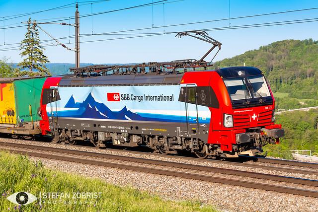 SBB Cargo International | 193 473-6