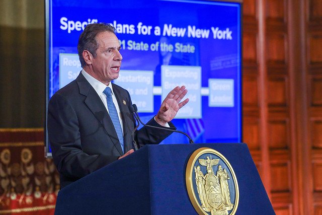 Governor Cuomo Presents FY 2022 Executive Budget