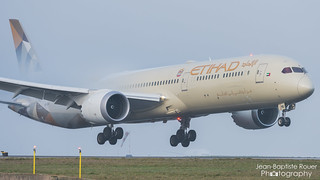 Boeing 787-10 Dreamliner Etihad Airways A6-BMG