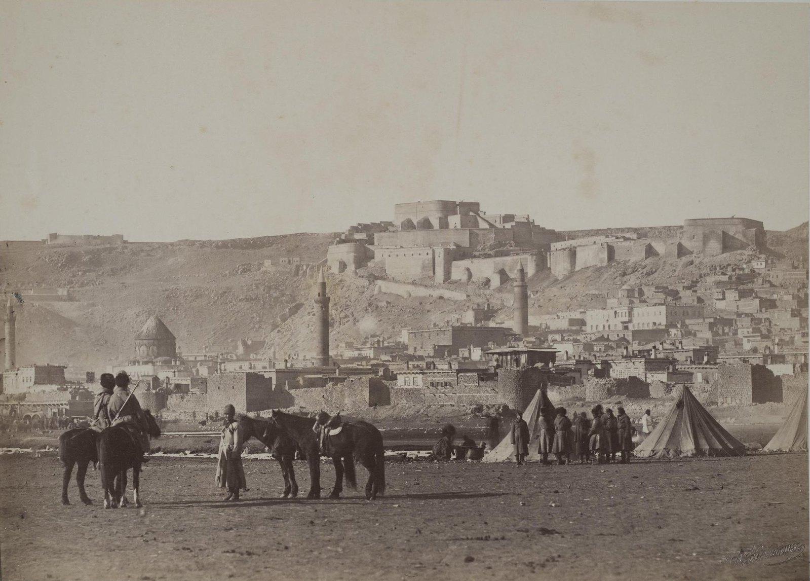 Вид крепости Карс. 1870-е гг