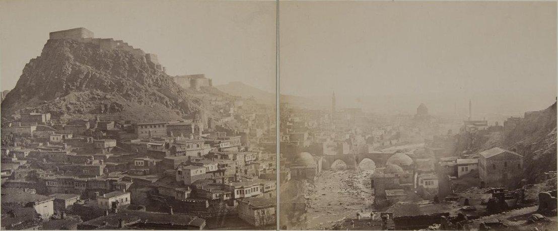 Вид крепости Карс. 1870-е гг.