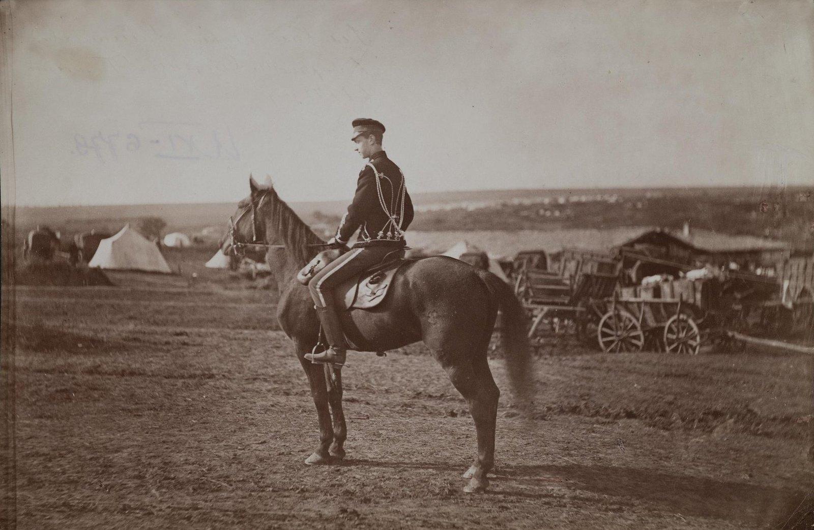 Великий князь Павел Александрович в Горном Студне. Duschek Franz. 1877