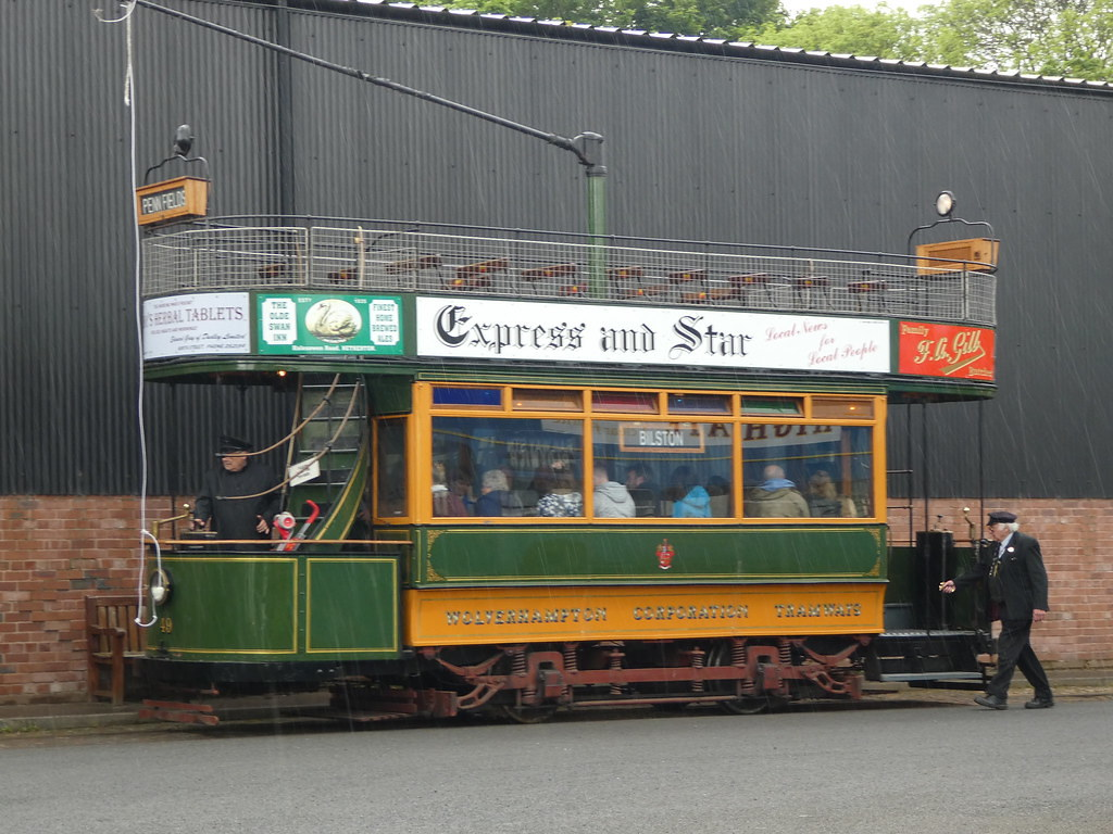 Heritage transport at the Black Country Living Museum