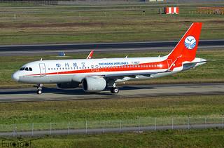 F-WWIP / B-320U Airbus A320-271N Sichuan Airlines s/n 10286 * Toulouse Blagnac 2021 *