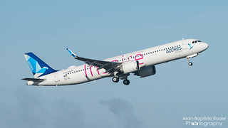"Airbus A321-253NX Azores Airlines ""Inspire Livery"" CS-TSI"