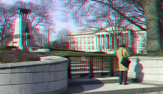 General William Tecumseh Sherman Monument and U.S. Treasury Building - Washington, D.C.