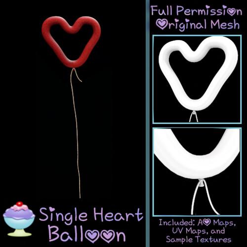 [Sherbert] Single Heart Balloon Ad