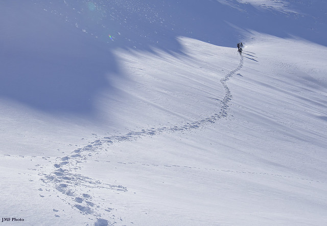 A way on the snow