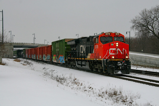 CN X340 at Nestle