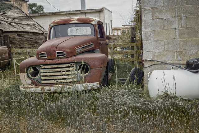 Back Alley Ford Truck