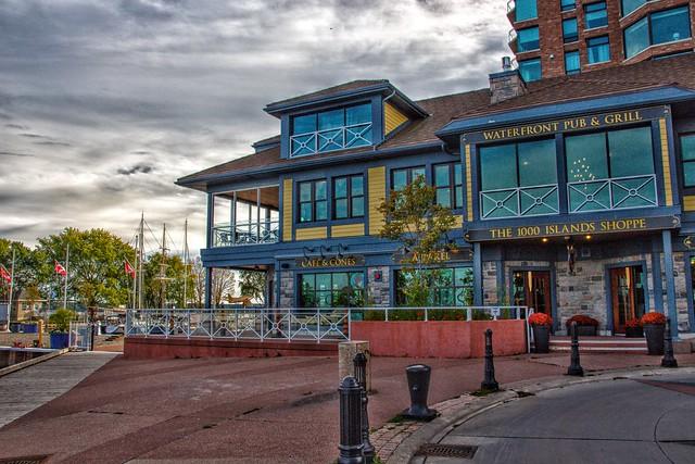 Brockville Ontario - Canada - Jeanne F Fuller Building - Tall Ships Landing - Condominium -  6 Broad Street