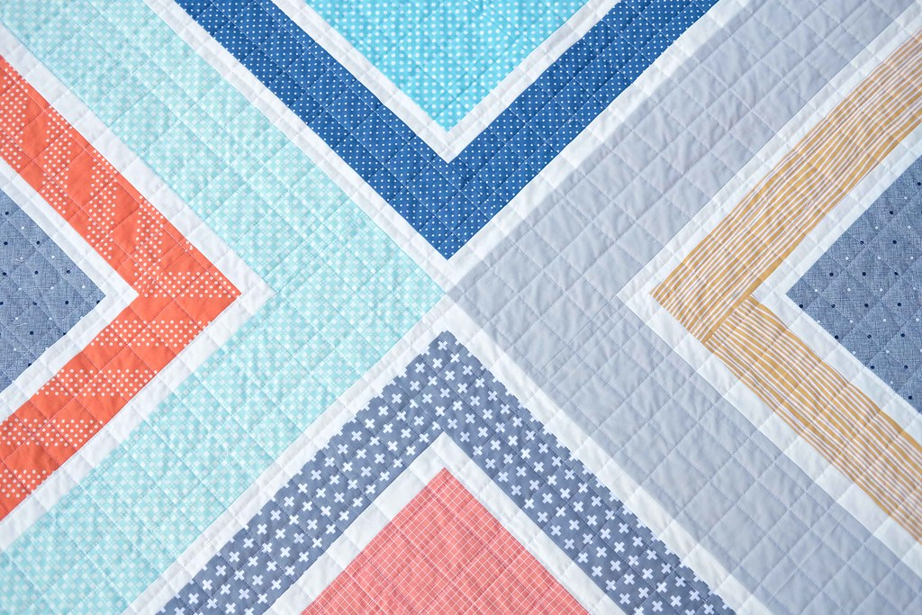 A Baby Size Sylvie Quilt - Kitchen Table Quilting