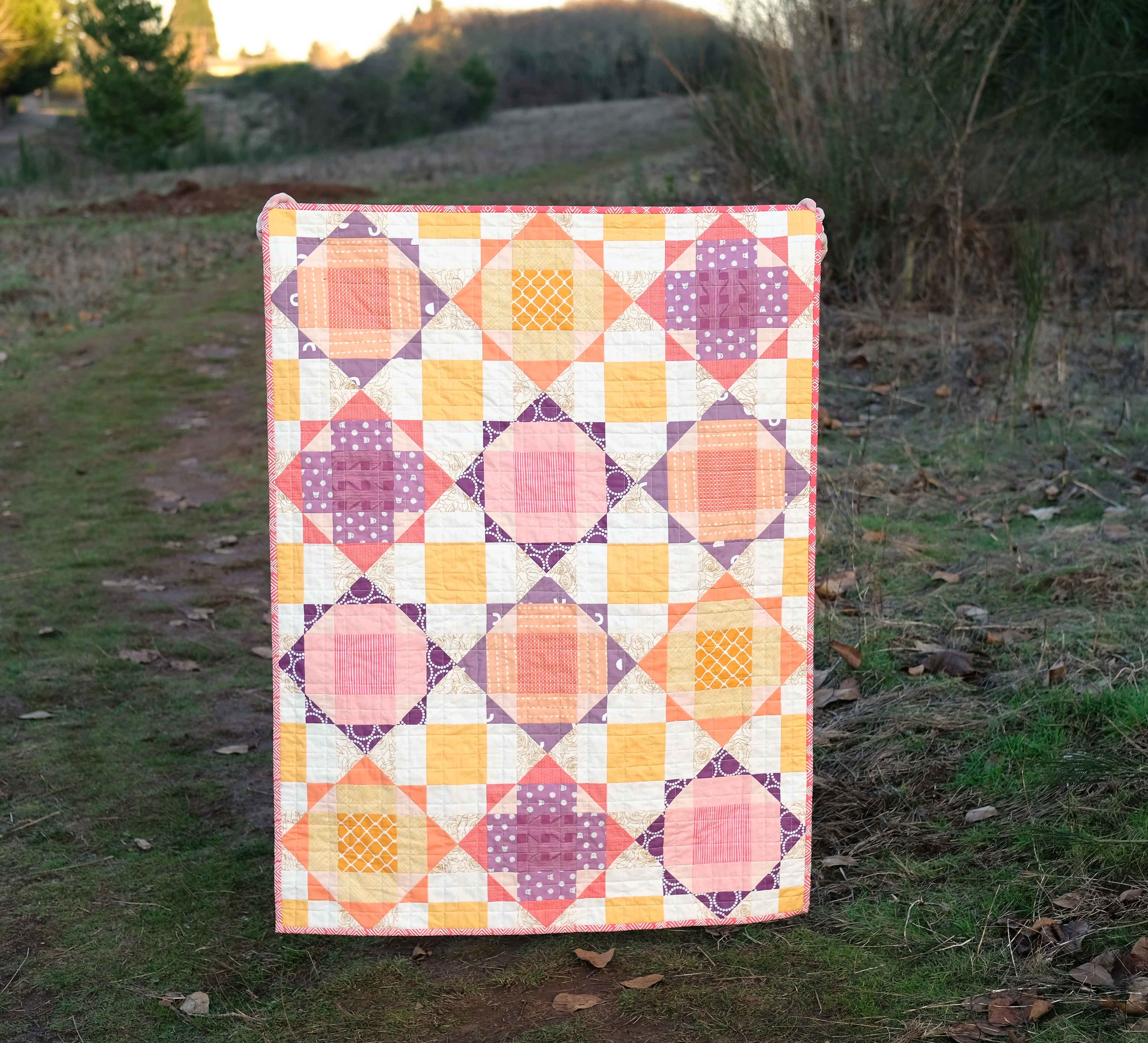 A Baby Size Naomi Quilt - Kitchen Table Quilting