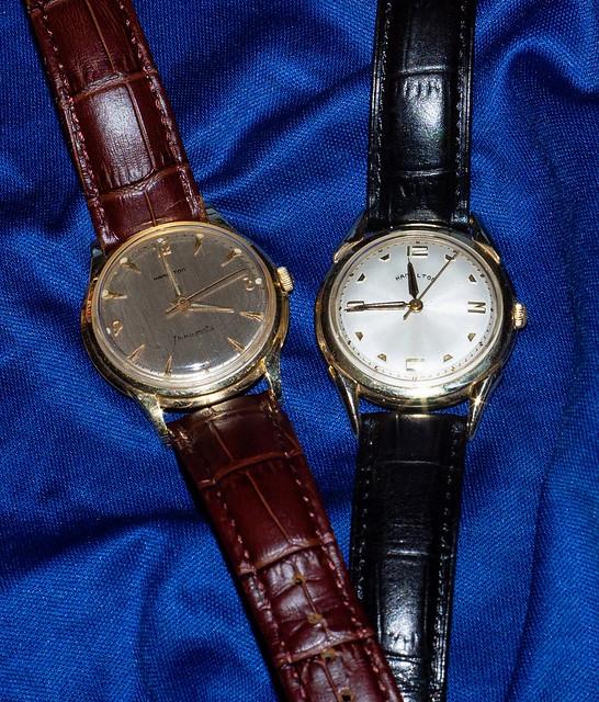 A pair of gold Hamilton's (1959)
