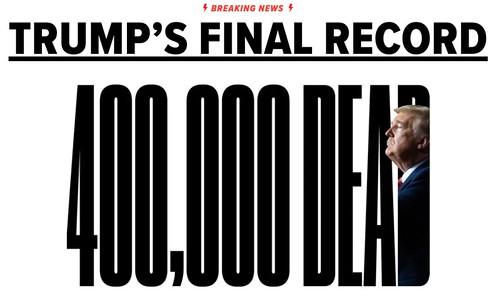 'Trump's Final COVID-19 Record' The Huffington Post January 19, 2021