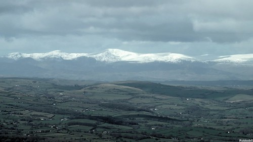 Snowdonia in the distance
