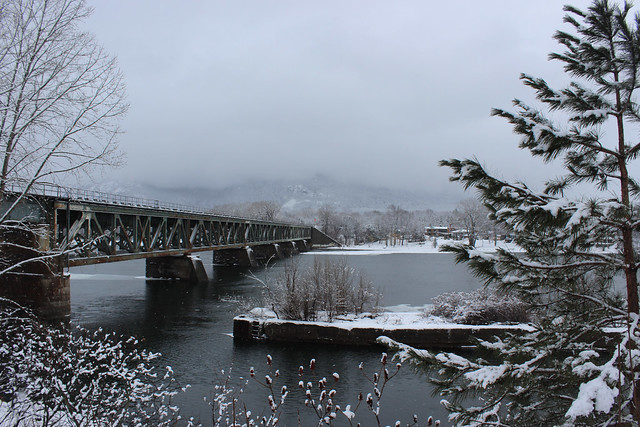 Railway Bridge across Richelieu River