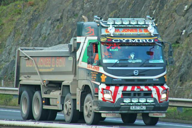 Volvo FMX Tipper D&M Jones & Son AJ67 DMJ