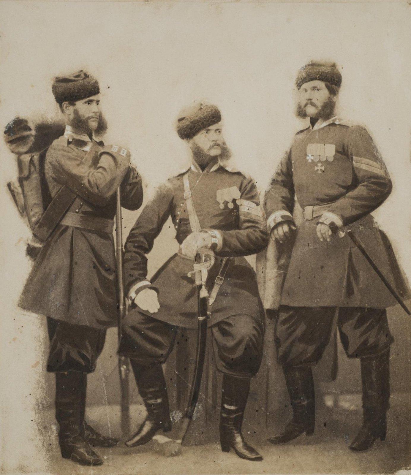 1877-1878. Солдат и унтер-офицеры
