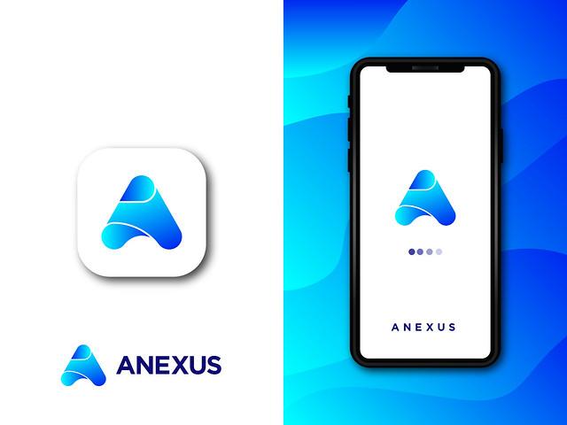 A Letter Logo - Anexus App Logo (unused)