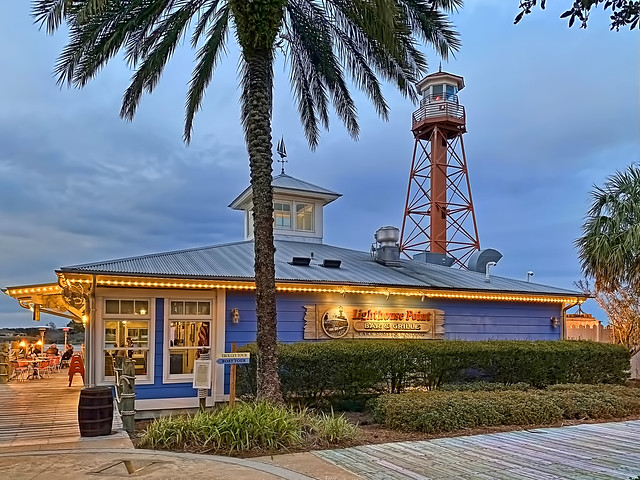 Lighthouse Point Bar & Grille, 925 Lakeshore Drive, Lake Sumter Landing, The Villages, Florida, USA