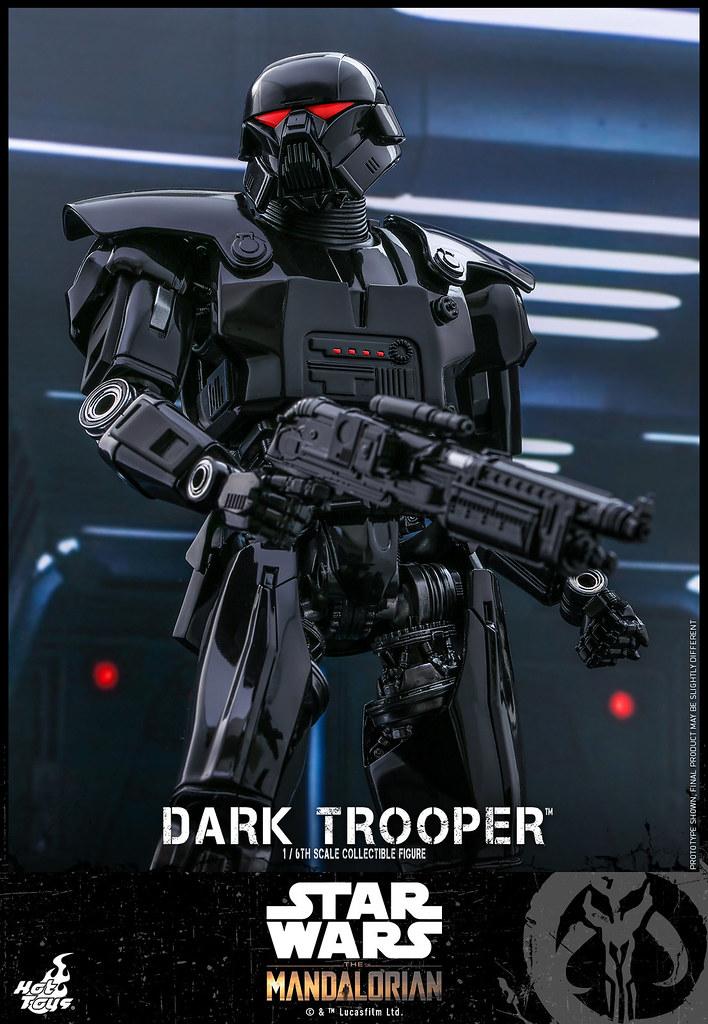 Hot Toys  – TMS032 -《曼達洛人》黑暗士兵(Dark Trooper)1/6比例收藏級人偶 致命的黑暗身影來襲!